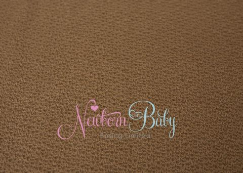 Textured Fabric Backdrop - Warm Brown